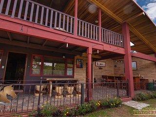 Maravillosa cabana con increibles vistas ubicada en las montanas de San Rafael.