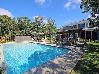 Beautiful Six Bedroom Edgartown Home with Pool