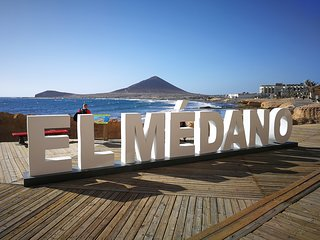 El Medano center, 3 minutes from the beach!