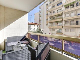 Suite Cannes Center - Two Terraces - Wifi - AC