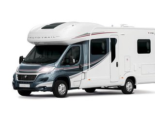 Autotrail Tribute 715 Luxury French Bed Motorhome