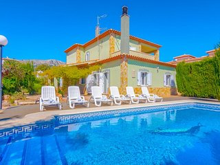 4 bedroom Villa in Calpe, Valencia, Spain : ref 5380365
