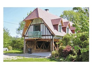 2 bedroom Villa in Houdetot, Normandy, France : ref 5539353
