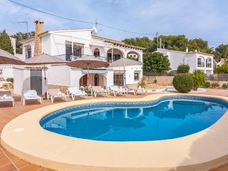 5 bedroom Villa in Benissa, Valencia, Spain : ref 5047187