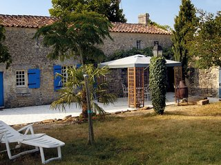2 bedroom Villa in Sainte-Gemme, Nouvelle-Aquitaine, France - 5513581