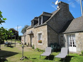 2 bedroom Villa in Plounevez-Lochrist, Brittany, France : ref 5438319