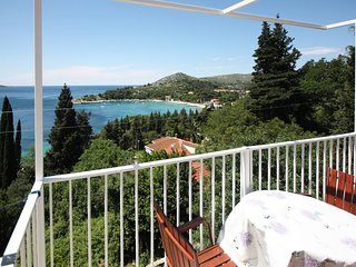 Apartments Katica - Standard One Bedroom Apartment with Terrace and Sea View