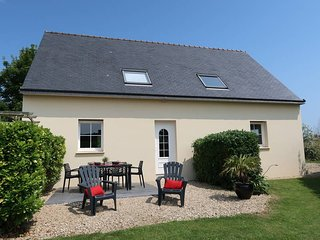 3 bedroom Villa in Plounevez-Lochrist, Brittany, France : ref 5438279