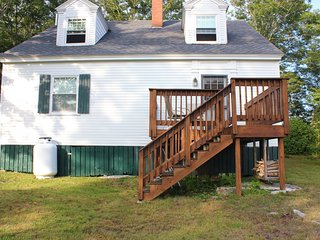 Walk to Town from this Roomy Boothbay Harbor House