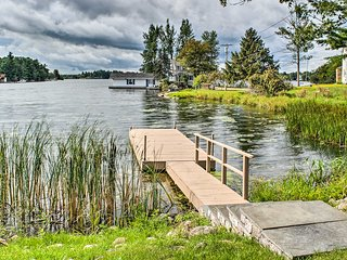 Waterfront Wellesley Island Apt w/ Private Dock!