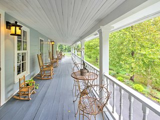 Historic Home w/Decks By Creek, 30min to Asheville