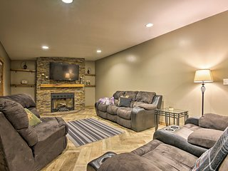 NEW! Spacious Kunkletown Home w/ Full Game Room!