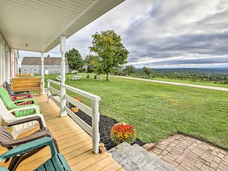NEW! Greene House w/Vineyard, Porch & Working Farm