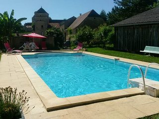 2 bedroom Villa in Nuzéjouls, Occitania, France : ref 5443053