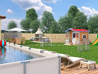 1 bedroom Villa in Kunj, Istria, Croatia : ref 5545116