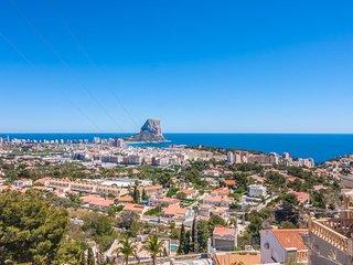 2 bedroom Villa in Calpe, Valencia, Spain : ref 5047241