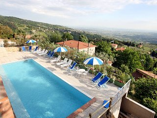 2 bedroom Apartment in San Baronto, Tuscany, Italy : ref 5446859