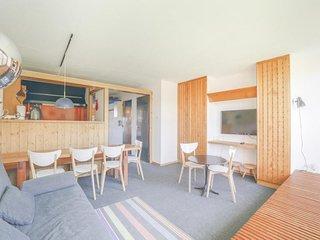 Appartement 3 pieces 8 personnes traversant a Arc 1600 proche des pistes et des