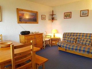 Appartement 2 pieces 4 personnes a Arc 1600 situe dans un quartier calme