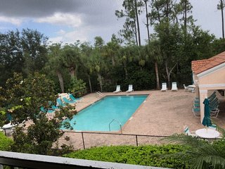 Amazing Pool and Lake View  2 bedrooms + den  2/baths North Naples