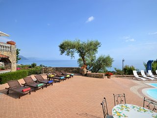 Fabulous modern Italian style beach villa, Luxury Cilento coast villa with pool