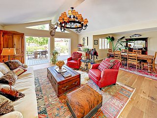 Sophisticated 3BR Wine Country Retreat w/ Gourmet Kitchen & Private Deck