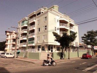 Aconchegante apartamento de 1 quarto a 50 metros da praia