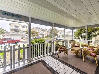 NEW! Brigantine Home Just 1 Block from the Beach!