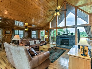 Sevierville Cabin w/ Game Room & 4 King Beds!