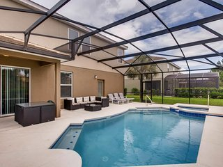 Modern 6bd home 15 min to Disney at Solterra 4209
