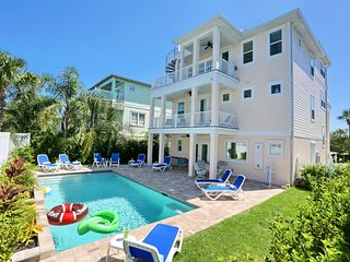 NEW IN 2018! Ocean View Home w/ Private Pool, Elevator, Rooftop Deck, Sleeps 10