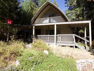 Rustic home with large decks & wood stove - located in the heart of McCall!