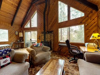 NEW LISTING! Classic cabin w/fun-filled rec room & shared pool - near skiing