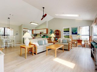 NEW LISTING! Beautiful and spacious beach home with easy beach access!