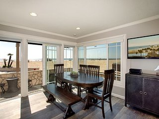 Oceanfront Home - Patio with BBQ on Boardwalk! Enjoy Beautiful Views