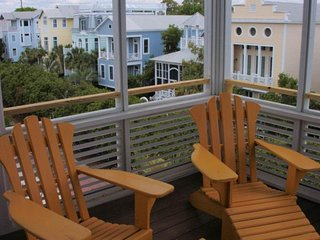 NEW LISTING! Eclectic beach cottage w/ocean views, balconies, and shared pools