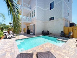 NEW LISTING! Coast Guard Beach cottage with ocean views and private heated pool!