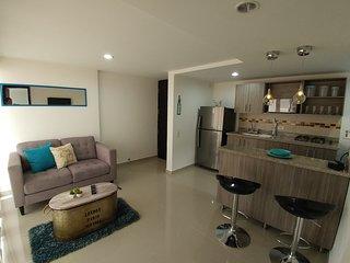 Apartamento Amoblado De 2 Alcobas En Guayabal 402