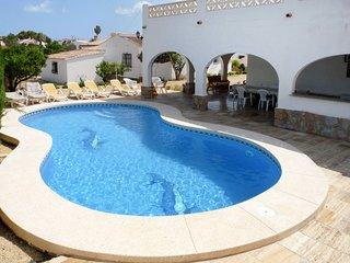 4 bedroom Villa in l'Alfas del Pi, Valencia, Spain : ref 5435333
