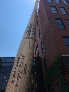 Louisville is full of things to do - including the Louisville Slugger Factory.