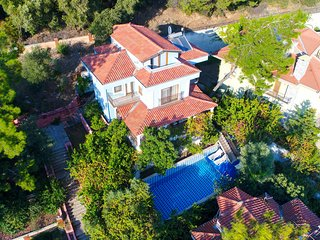 Turkuaz Villa Beldibi with Sea View Daily Weekly Rentals