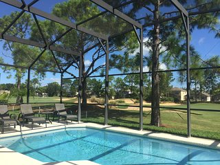 By the Fairway - 4 Bedroom 3 Bathroom Villa with Luxury Pool on Southern Dunes