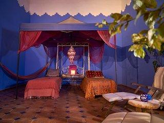 """Habitación """"Simbad"""", en Casa Aladino, casa de cuento en la medina de Asilah"""