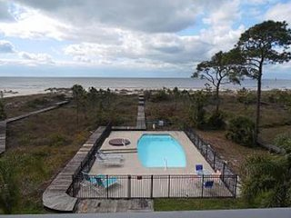 NEW LISTING! Stunning beachfront home w/ pool, hot tub & access to boardwalk