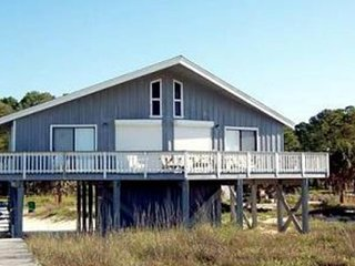 NEW LISTING! Dog-friendly beachfront home w/private boardwalk, ocean view & WiFi