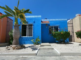 Cozy Casa Azul in Mexico! Walk to Xcacel Beach and Cenotes