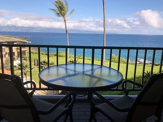 Kapalua Bay Villa 23B1 - Sensational Ocean Front Villa with Designer upgrades