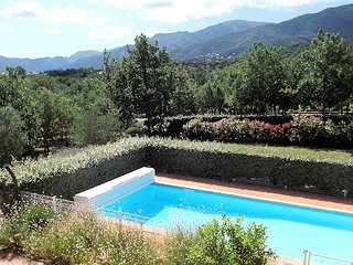 Vell-Roure, South France villa with pool, air conditioning, 5 bedrooms