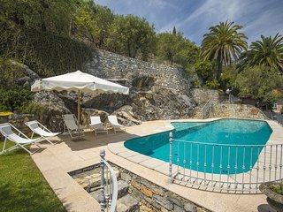 Villa Venere Luxury 5 Stars waterfront villa with large pool near Cinque Terre
