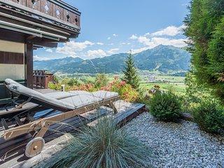 Chalet Juwel mit Sauna und Traumblick auf Kaprun und das Kitzsteinhorn